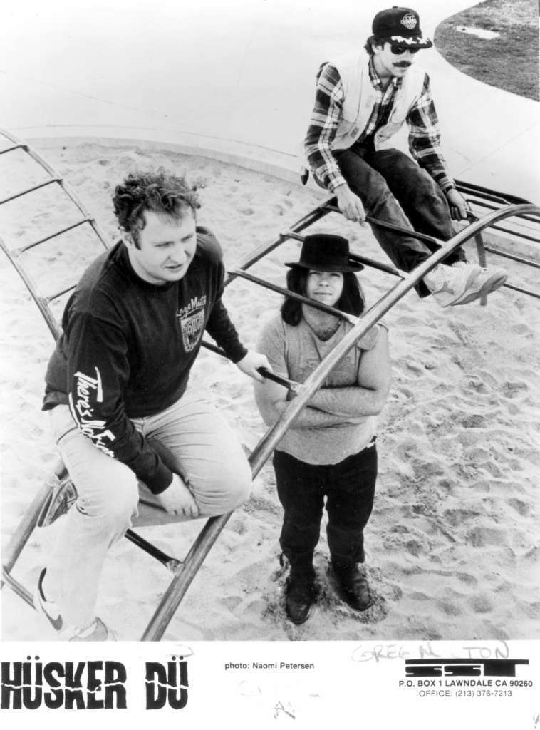 As seen in a 1985 publicity photo, Husker Du included: Bob Mould, left, Grant Hart and Greg Norton. (Handout)