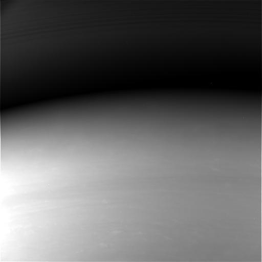 Cassini's final image of Saturn.