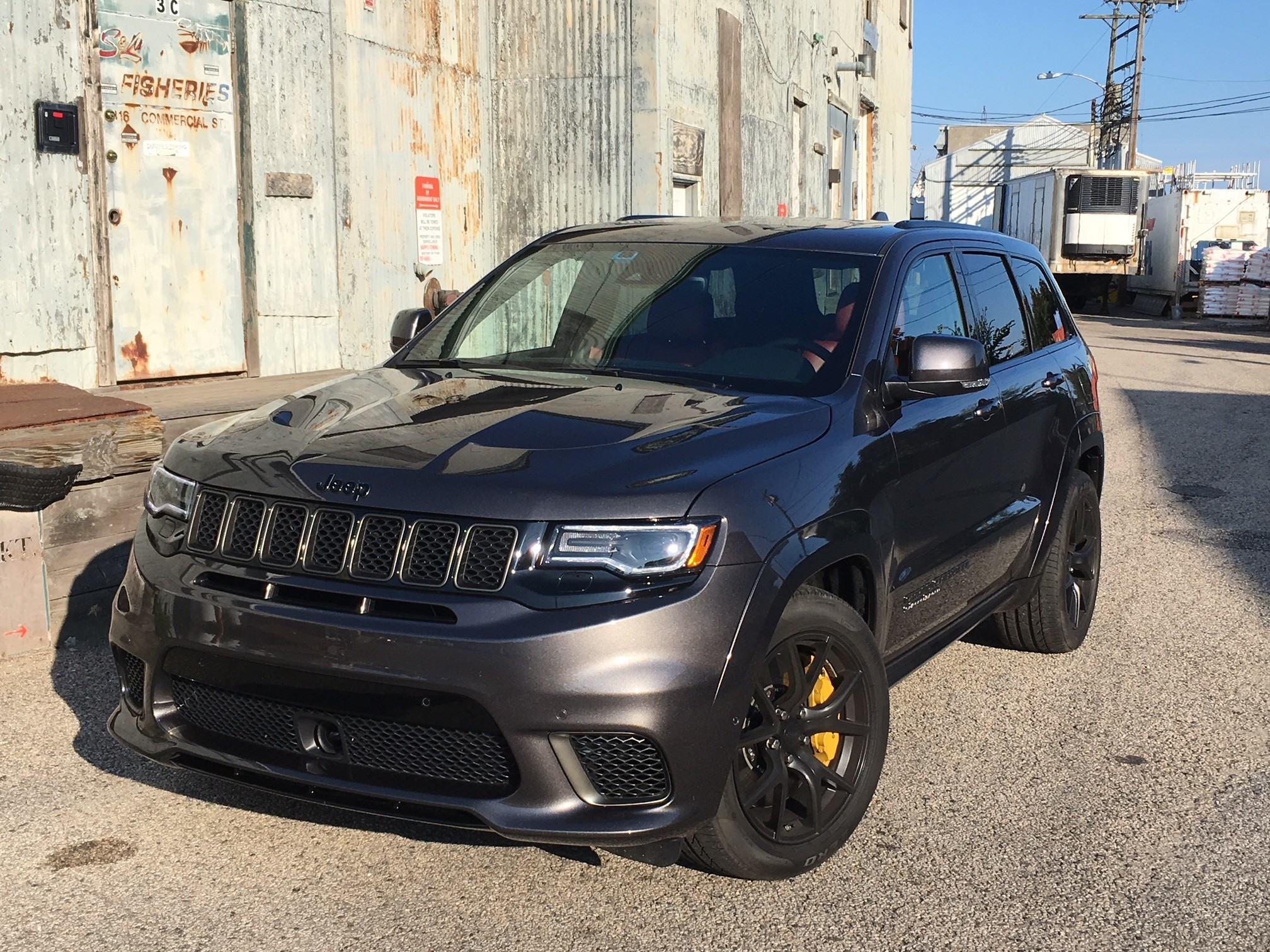 2018 dodge trackhawk. exellent 2018 driving the 707horsepower jeep grand cherokee trackhawk in a word sick   chicago tribune throughout 2018 dodge trackhawk