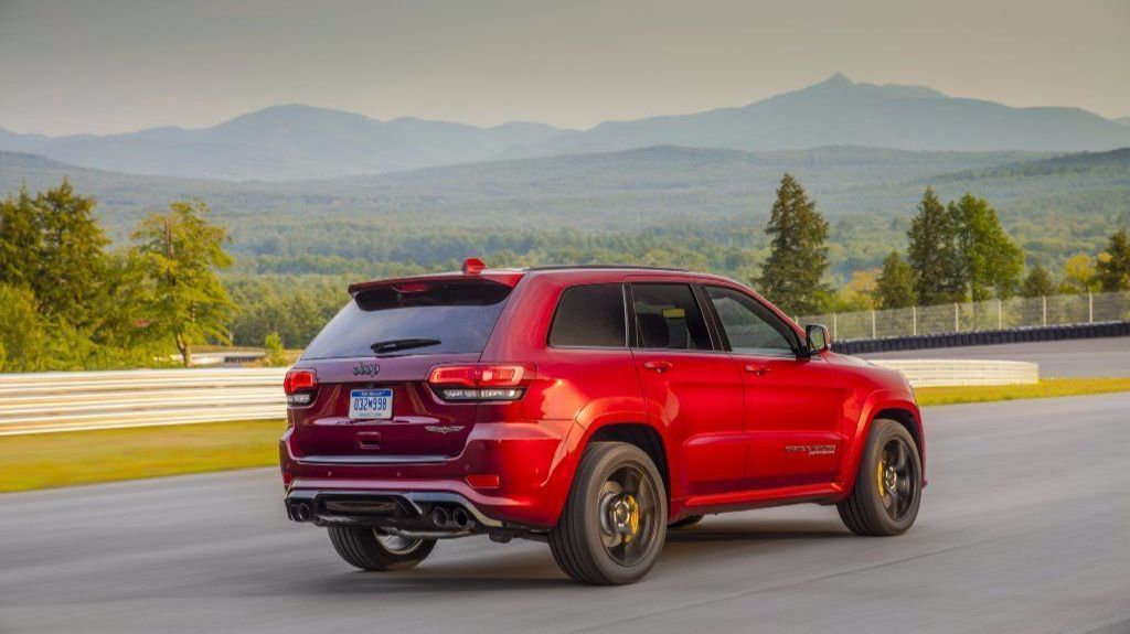Driving The 707 Horsepower Jeep Grand Cherokee Trackhawk In A Word