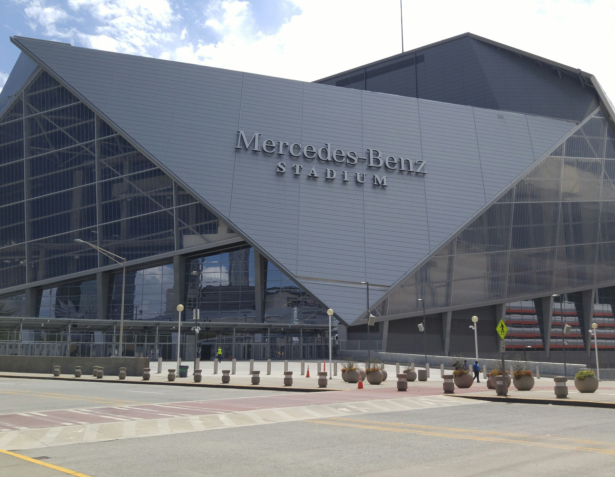 Good stadium food exists mercedes benz stadium in atlanta for Will call mercedes benz stadium