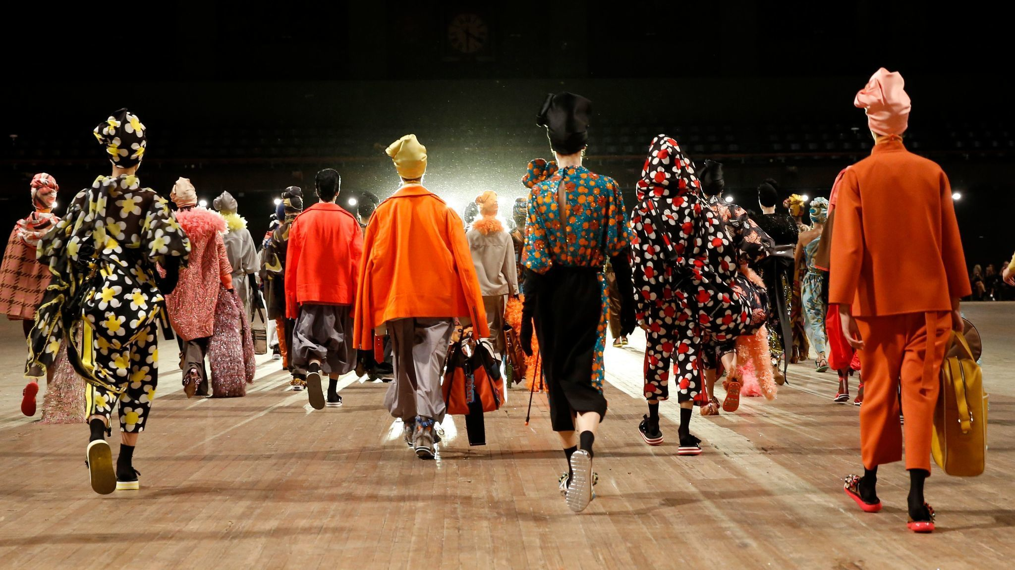Marc Jacobs closes New York Fashion Week with a colorful trip to ... somewhere