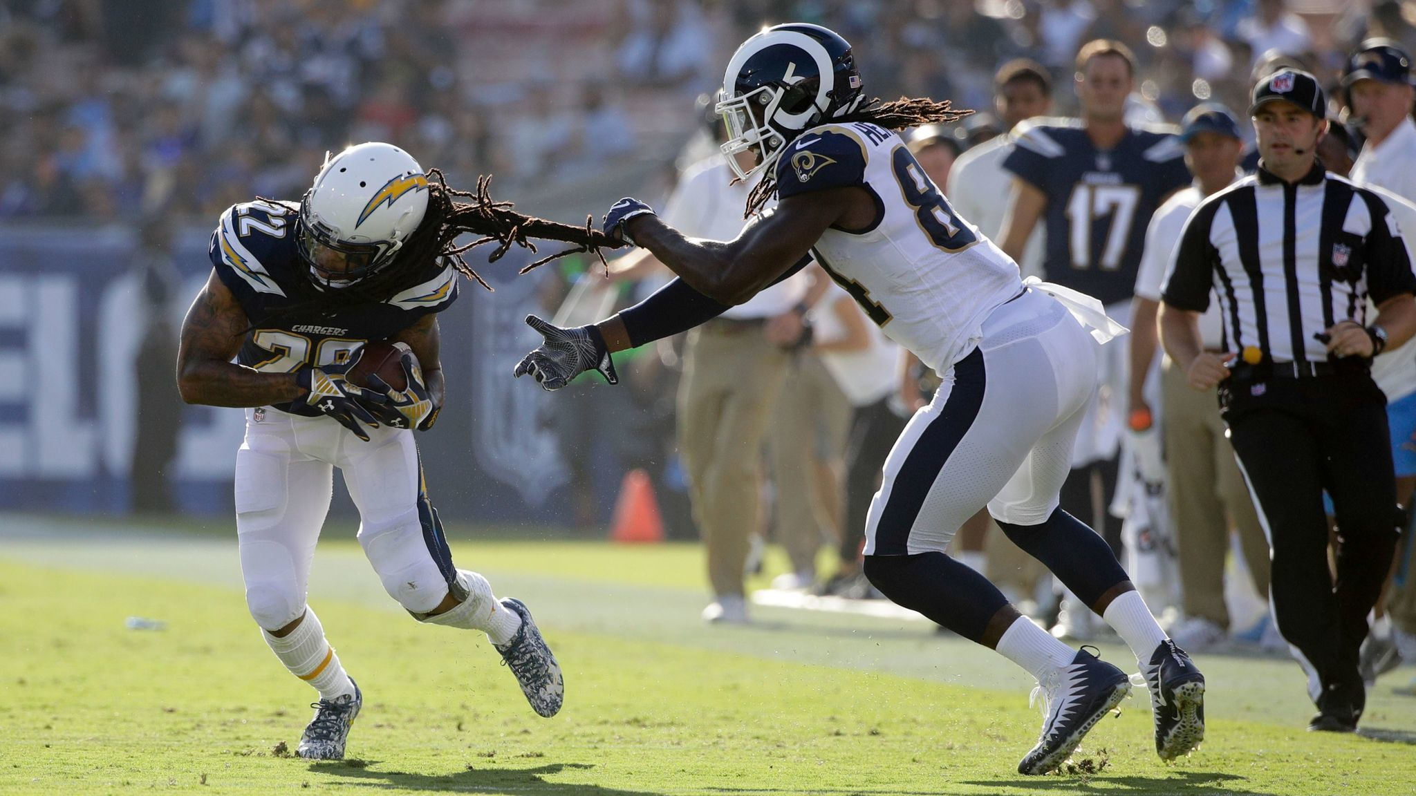 Chargers CB Verrett could be out several weeks The San Diego