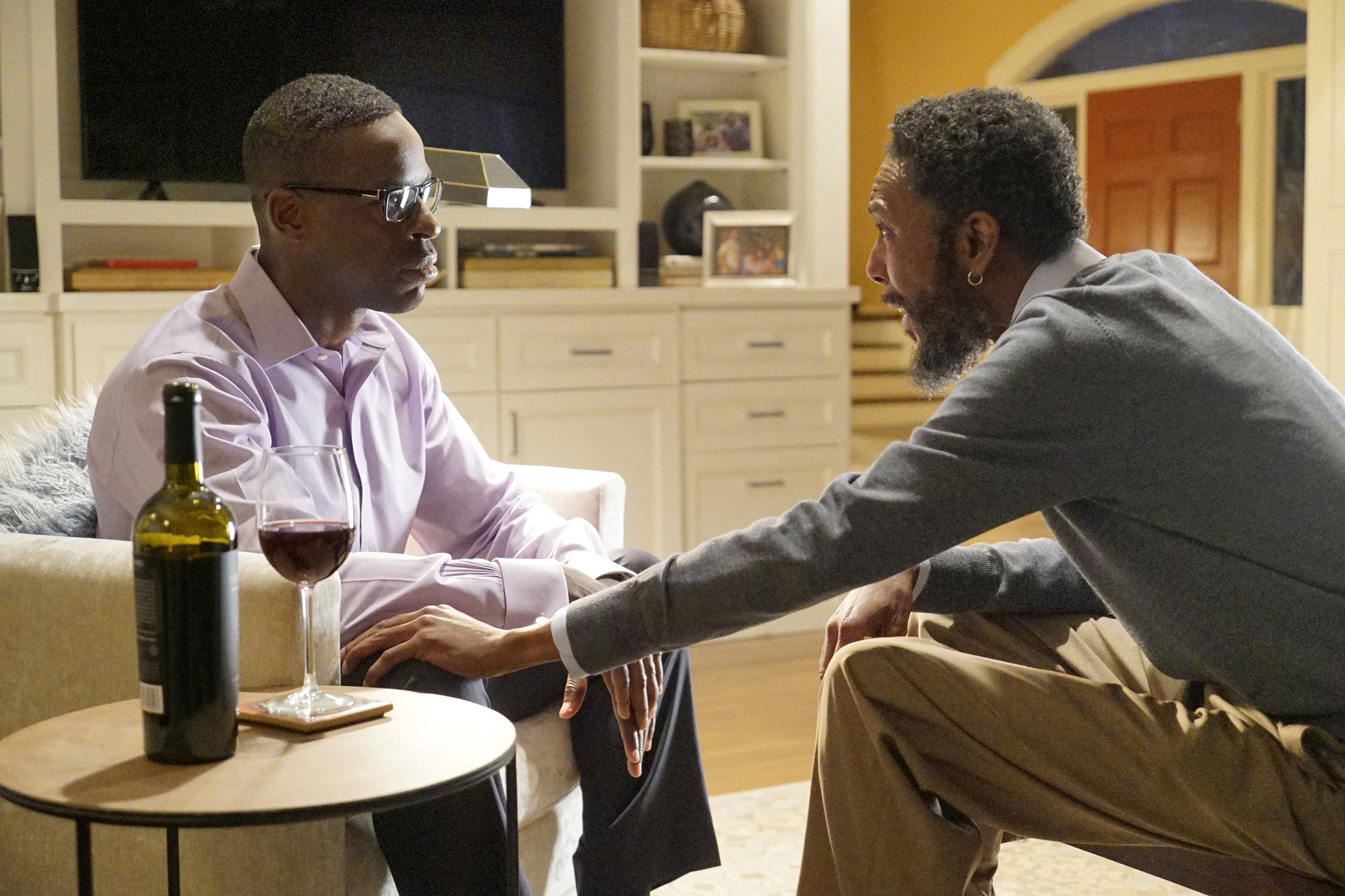 "Sterling K. Brown, left, and Ron Cephas Jones from ""This Is Us."" (NBC)"
