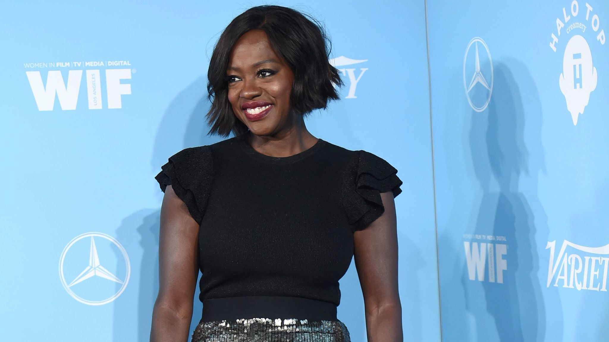 Emmy nominee Viola Davis attends the Variety and Women in Film celebration.