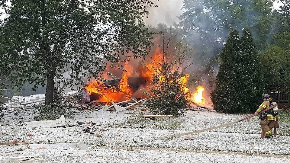 Grandwood Park House Explosion Cause For Pause Lake