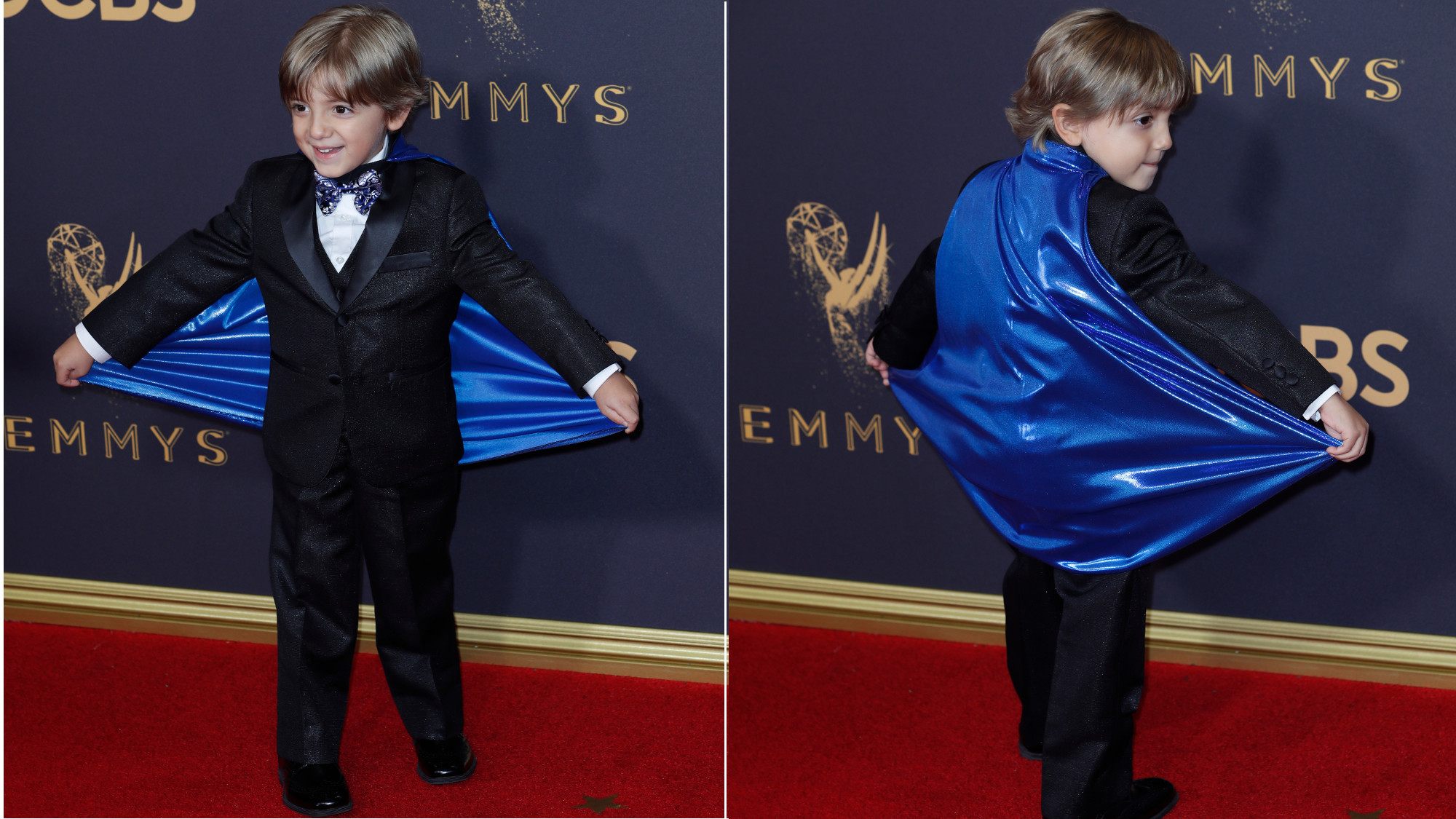"Jeremy Maguire from ""Modern Family"" at the 2017 Emmys red carpet. (Kirk McKoy / Los Angeles Times)"