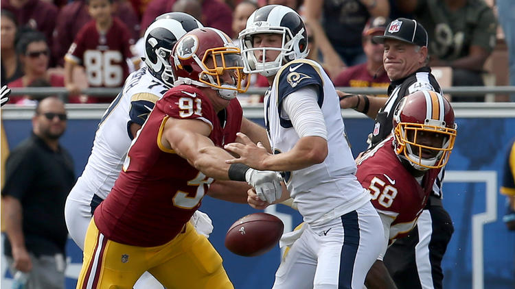 Rams vs. Washington Redskins