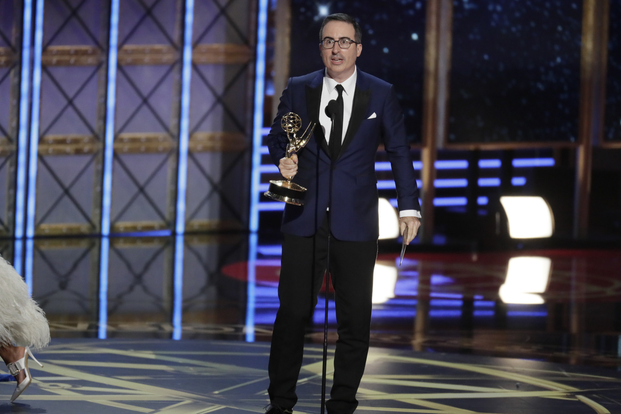 Image result for Emmy Awards Red Carpet 2017 Tonight with John Oliver