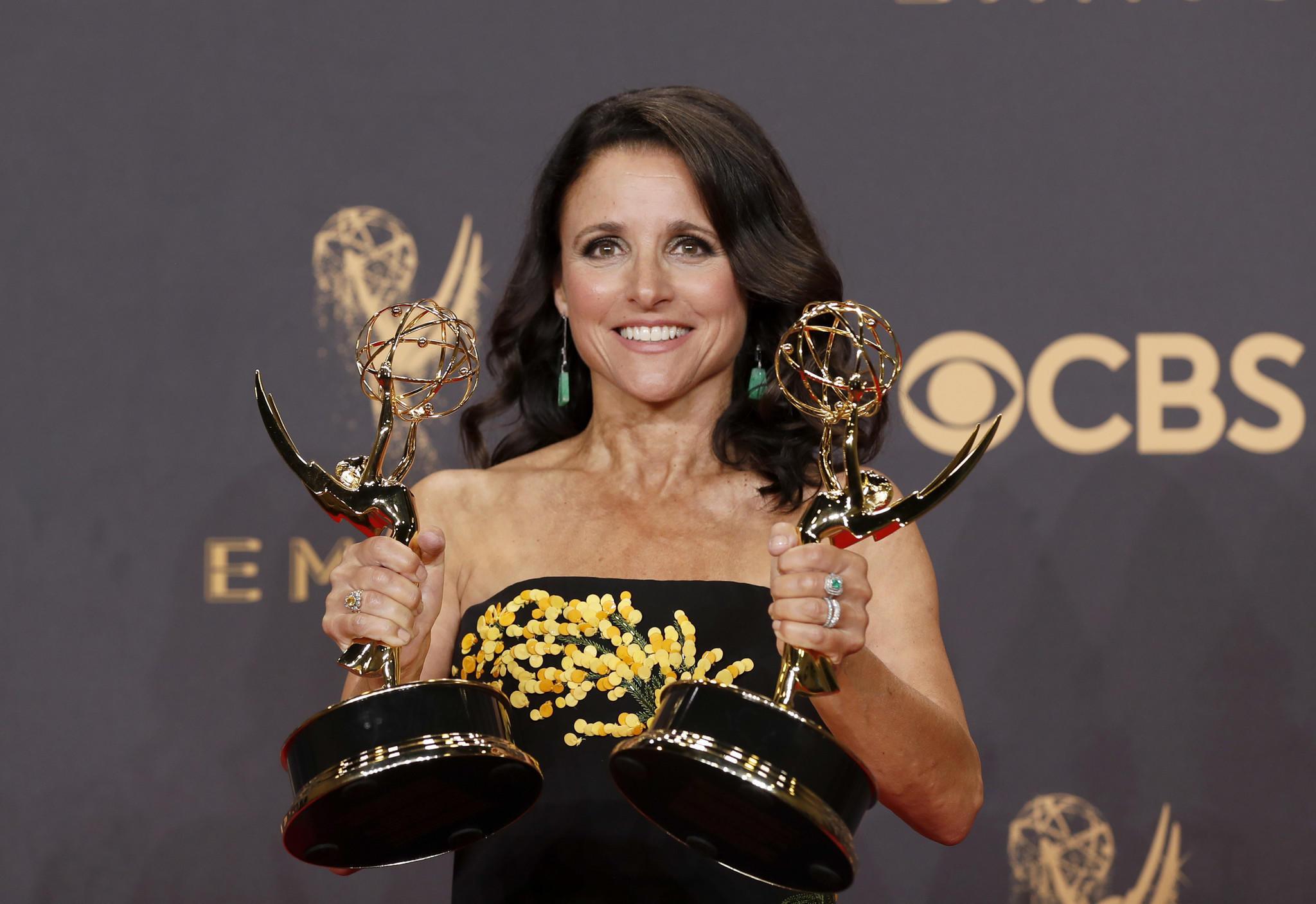 Emmy Awards 2017: Backstage with the winners - LA Times Emmy Winners