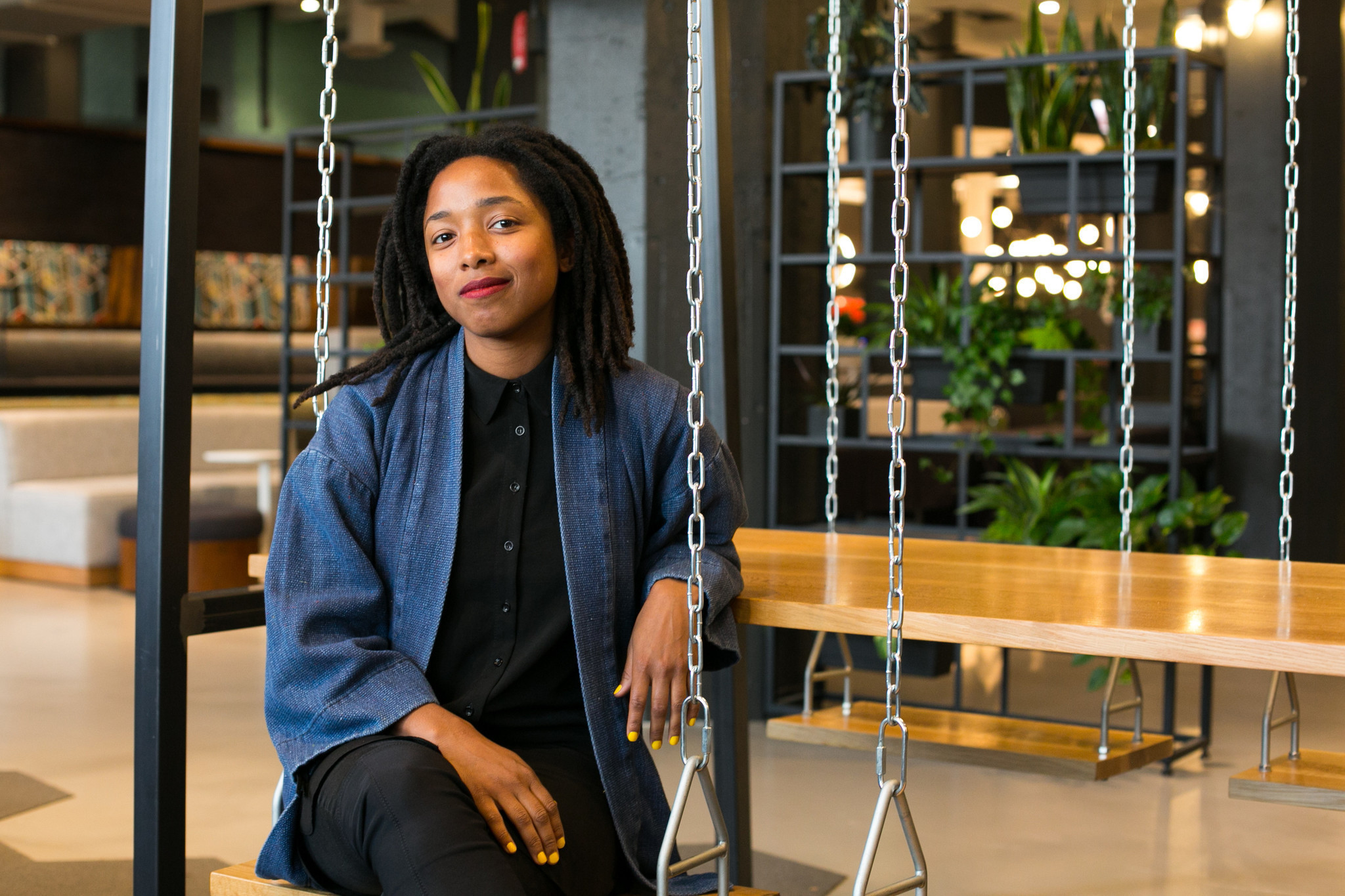 She plugs into big data and gets free avocados at Uptake
