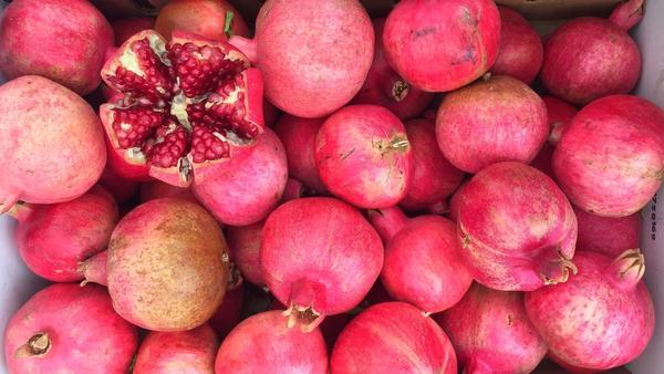 Pomegranates are in season. We have recipes