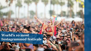 World's most popular festivals, according to Instagram