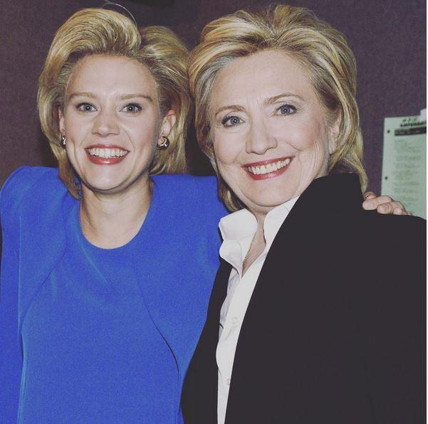 Here's what Hillary Clinton thought about Kate McKinnon's Emmy-winning 'SNL' tribute
