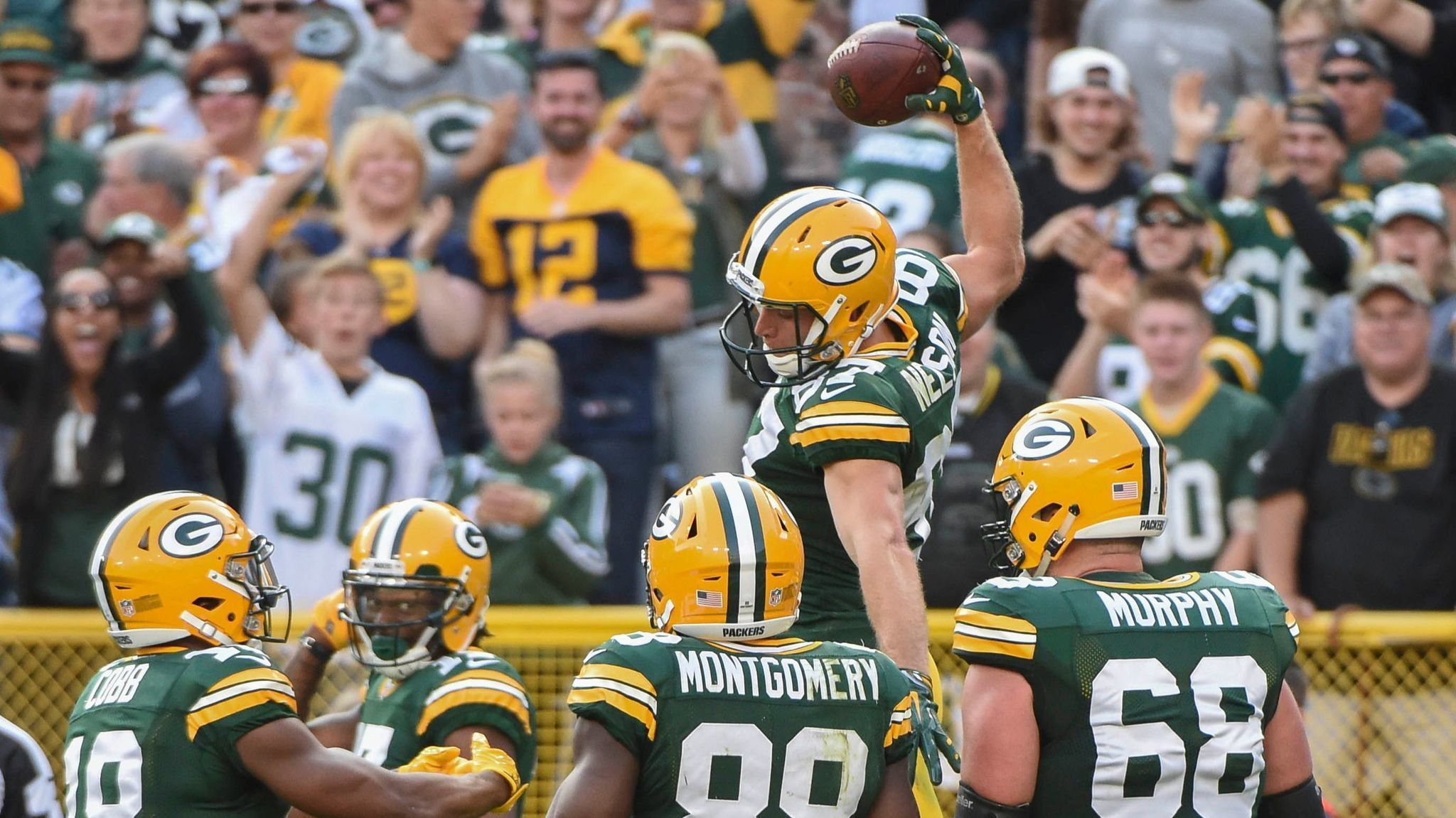 Jordy Nelson s quad injury shouldn t keep him out long The San