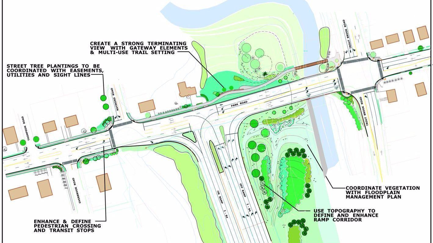 West hartford officials detail i park road