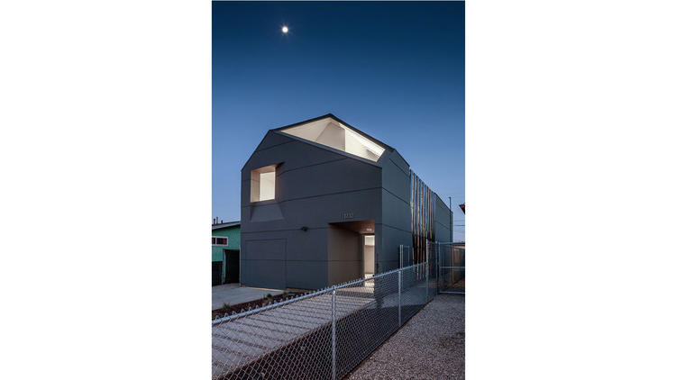 The IVRV House in South L.A. was designed by SCI-Arc students in collaboration with Habitat for Hum