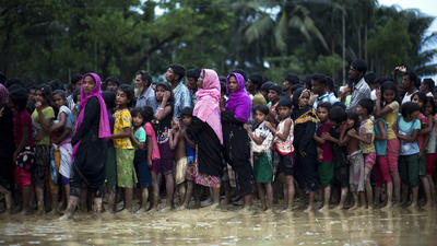 Rohingya Muslims are being wiped off Myanmar's map