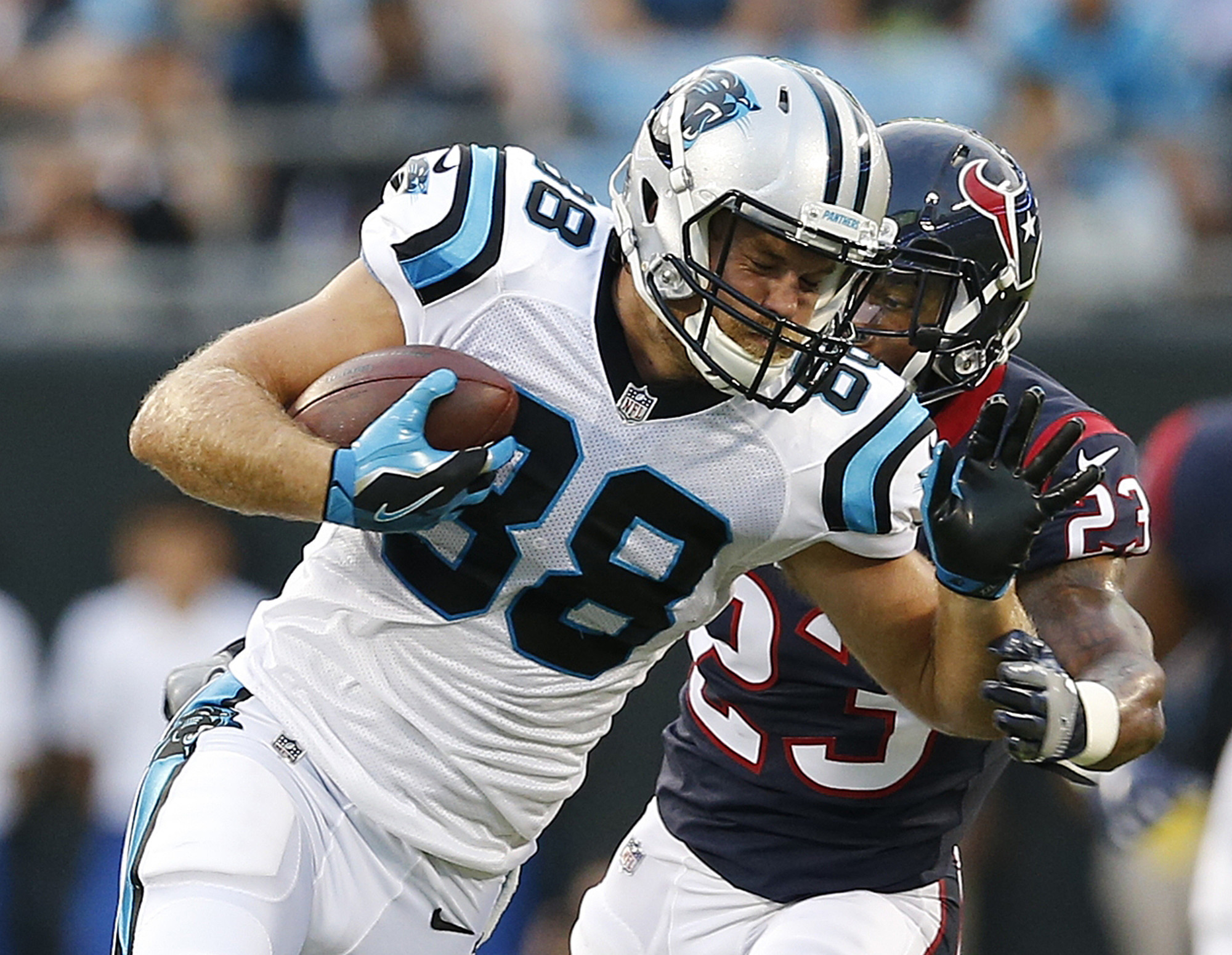 Panthers TE Greg Olsen heads to IR; will miss at least 8 ...