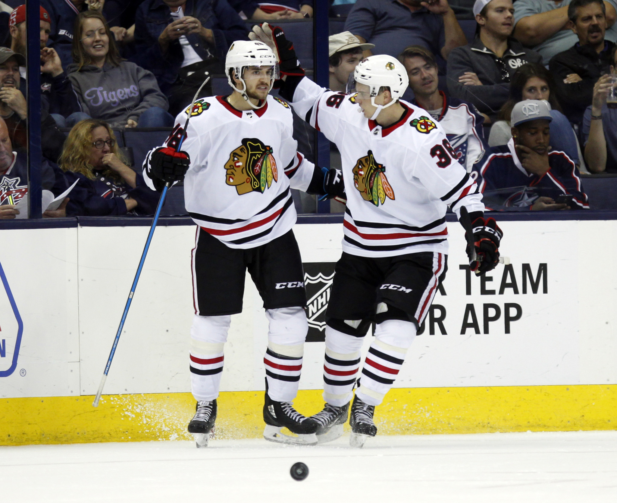Blackhawks down Blue Jackets 5-2 in preseason debut - Chicago Tribune