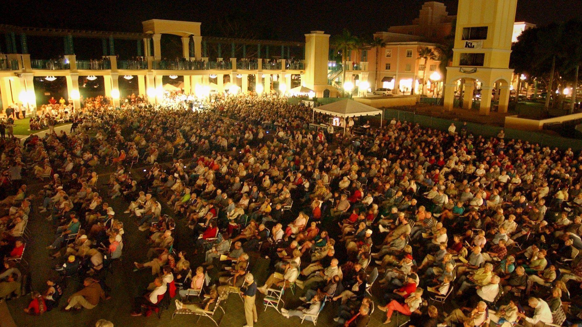 Boca could lose mizner park amphitheater gain performing - Palm beach gardens recreation center ...