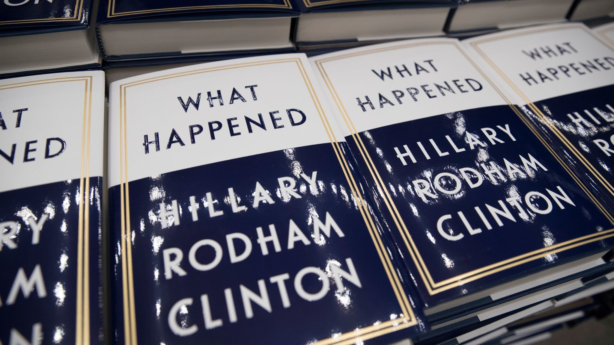 La na pol hillary clinton book what happened 20170920
