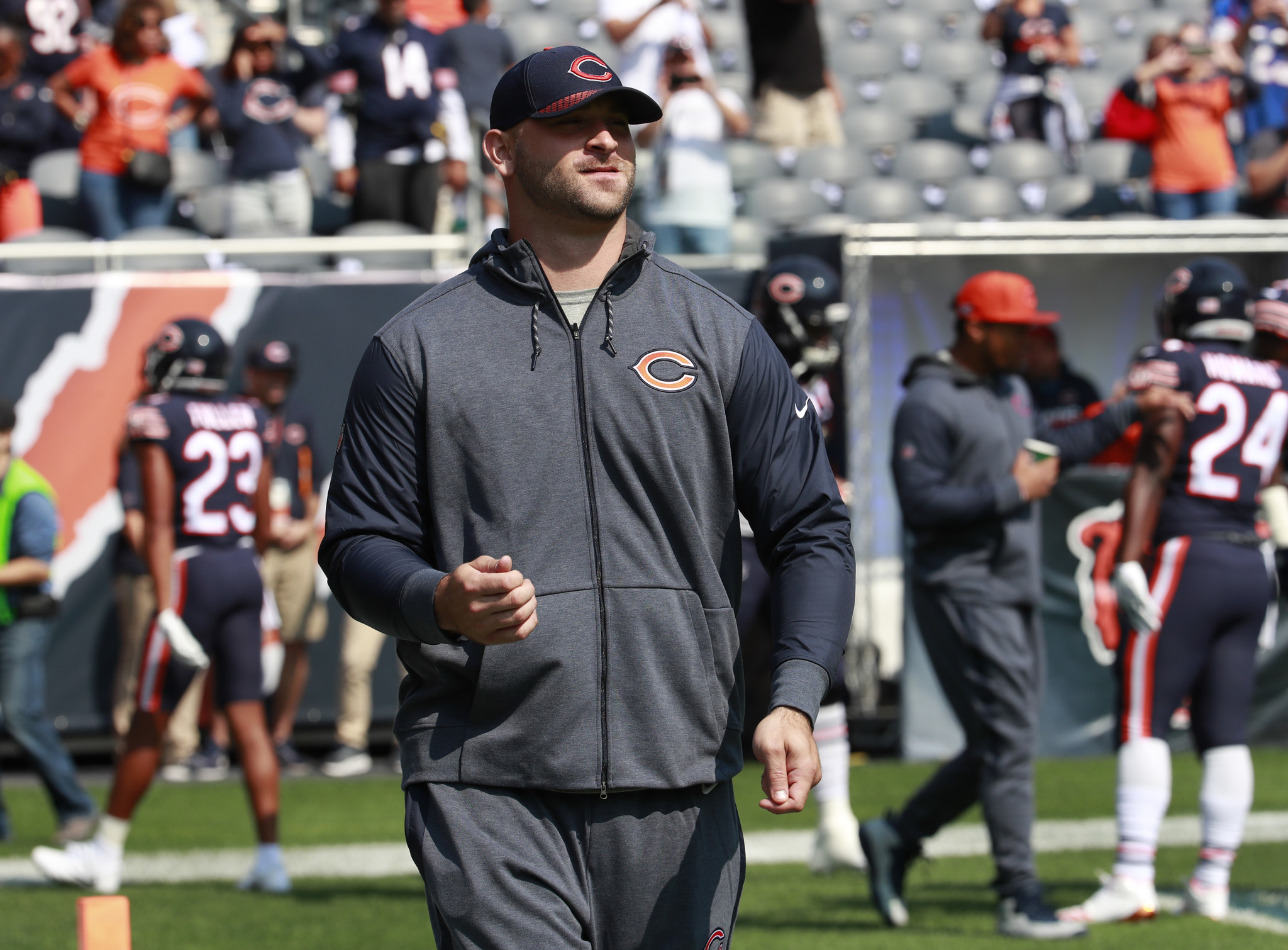 Kyle Long eager to over e recovery setbacks back on field
