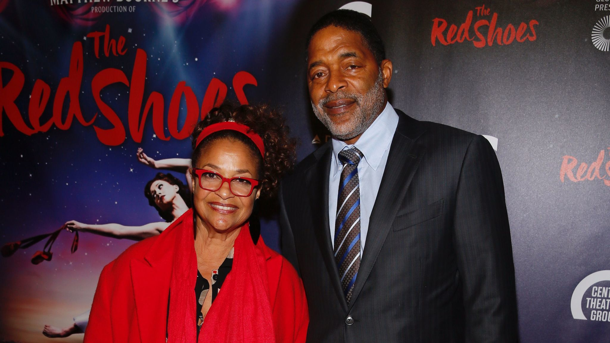 """Debbie Allen and Norm Nixon at the Sept. 19 opening night performance of """"The Red Shoes."""""""