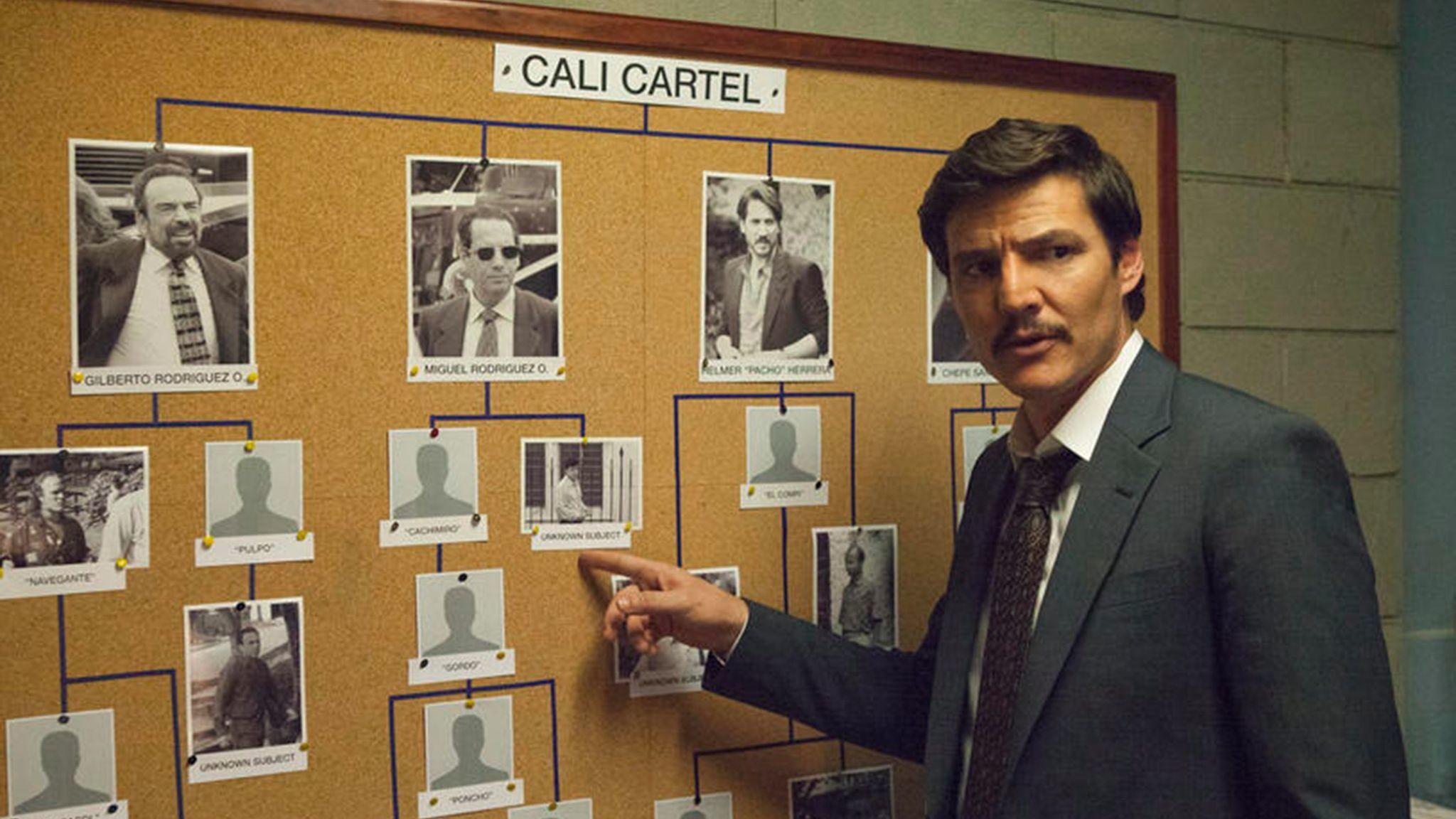 "Pedro Pascal on Netflix's ""Narcos."""