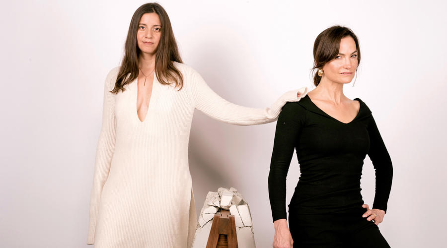 Art + Fashion: Designer Rosetta Getty and Artist Analia Saban Model Getty's Fall Collection