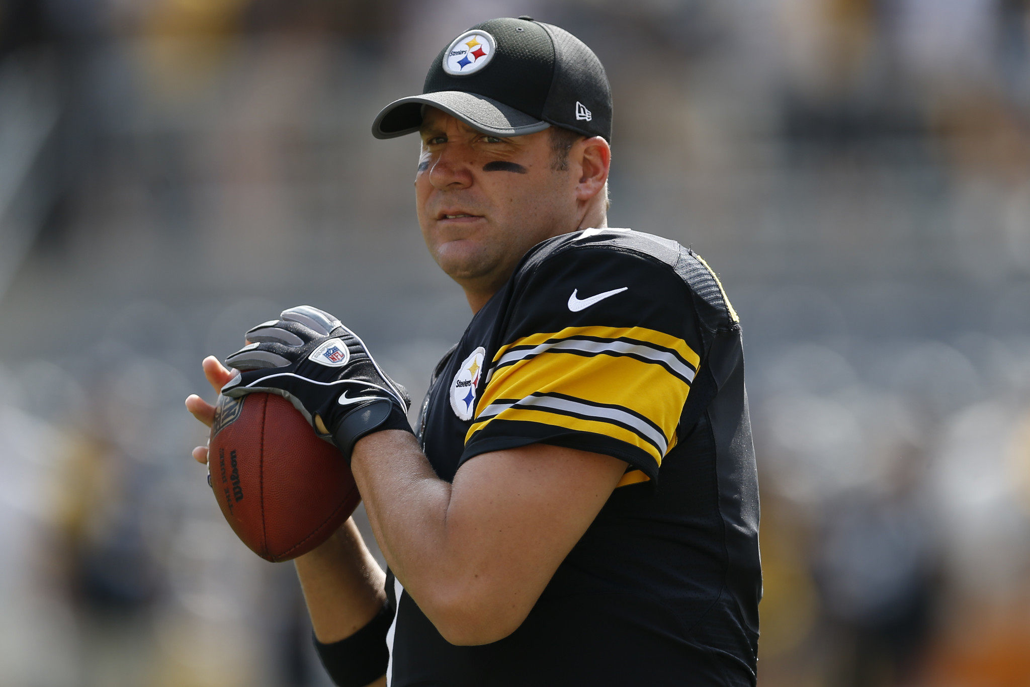 Ben Roethlisberger marvels at Mitch Trubisky s ability to throw on
