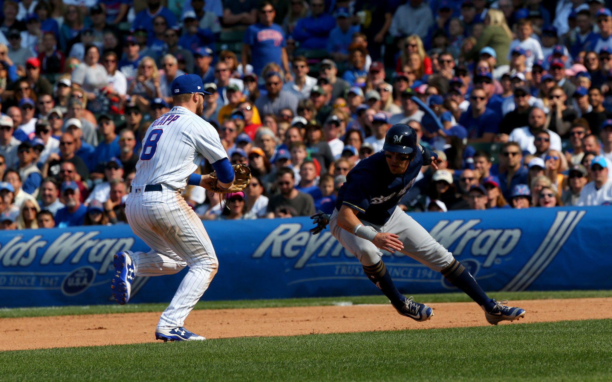 Cubs, pesky Brewers set to face off again for four games at Wrigley North