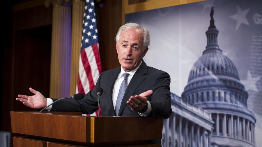 Sen. Bob Corker worries about tax cuts adding to the deficit.