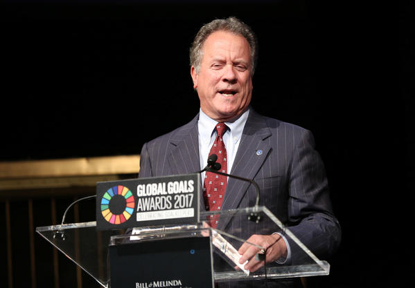 U.N. World Food Program Executive Director David Beasley. (Monica Schipper / Getty Images)