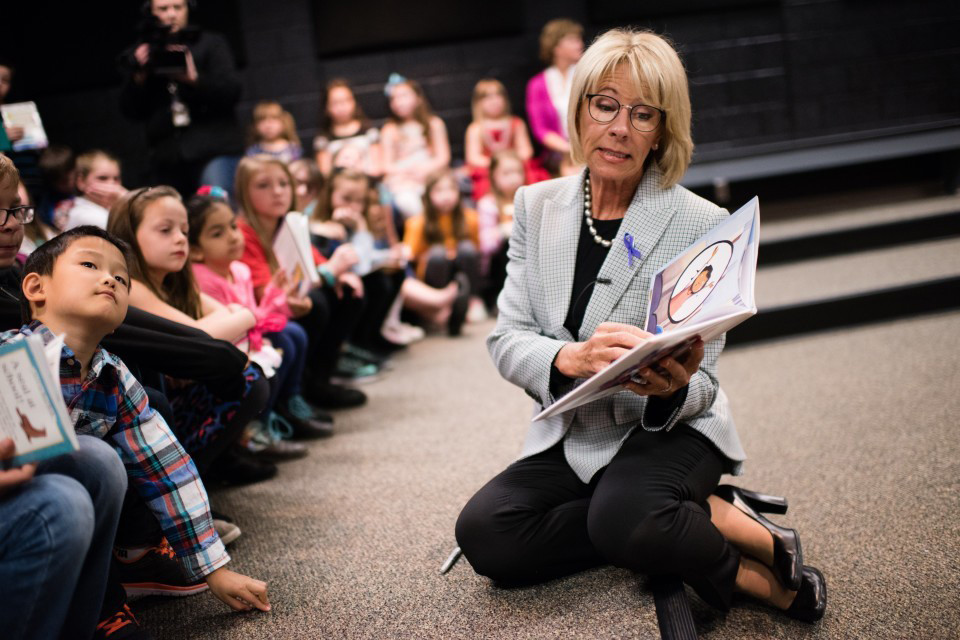 Betsy Devos Uses Her Own Plane When She Travels And Does