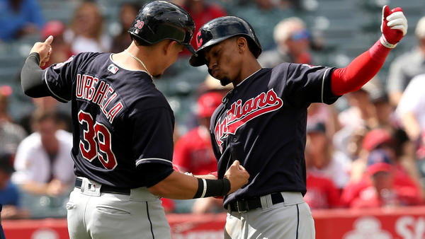 Francisco Lindor and the Indians deal a big blow to Angels' playoff hopes