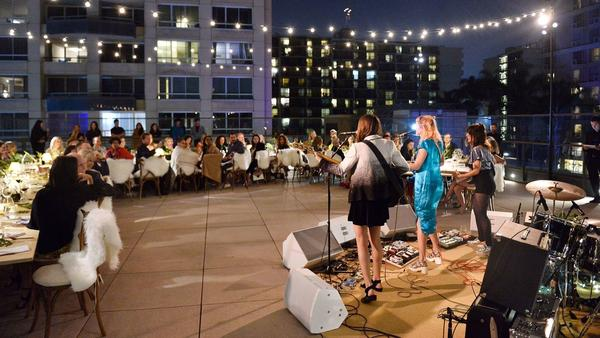 Fashion and art come to the table at the annual Chloé x MOCA night at museum event