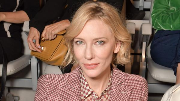 Before Giorgio Armani's fashion show, Cate Blanchett talks about the growing power of women in film