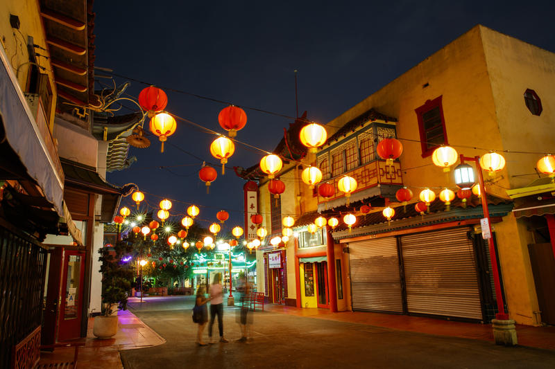 Gin Ling Way, Chinatown. (Jay Clendenin/Los Angeles Times)
