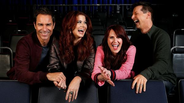 The stars of NBC's rebooted 'Will & Grace' discover you can go home again