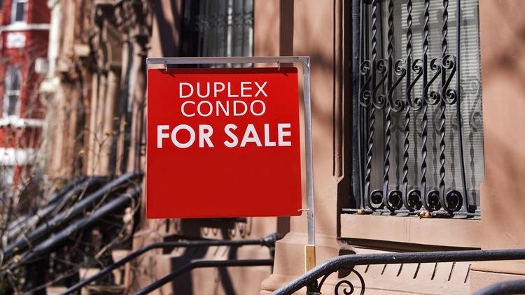 A condo for sale.