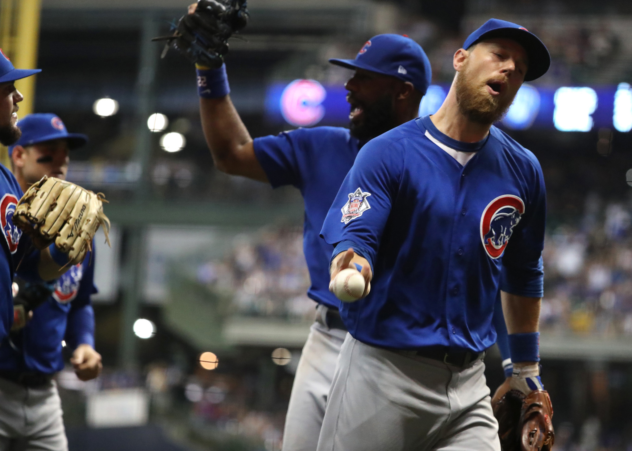 'Retreats' help Cubs deal with tense moments like wild games with Brewers