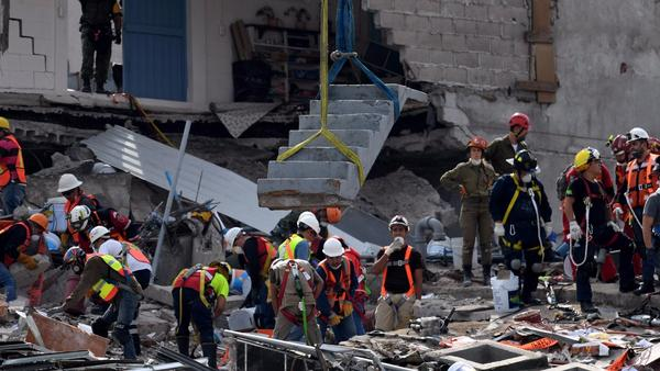 Scientists say latest 6.1 aftershock in Mexico is 'not surprising'