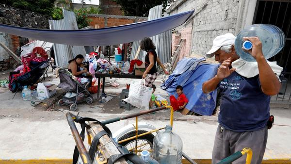 In Jojutla, near epicenter of Mexico quake, scenes of heartbreak, loss and survival
