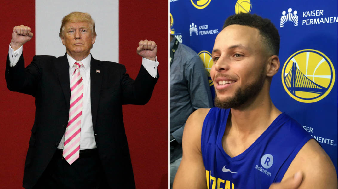 Ct Trump Steph Curry White House Visit Warriors Star Respects
