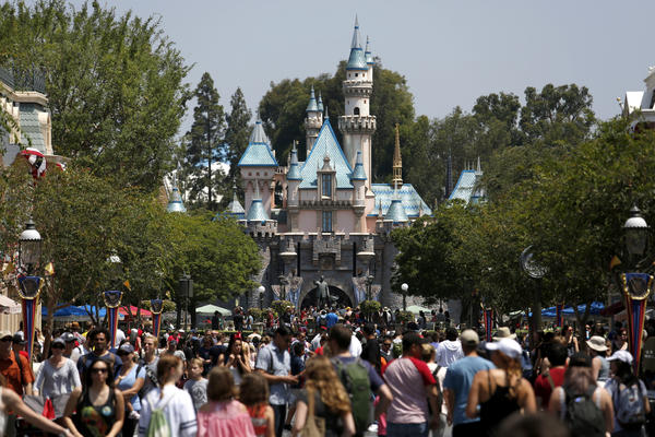 Is Disney paying its share in Anaheim?