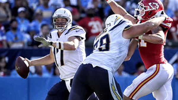 Another defeat comes to pass for 0-3 Chargers, who lose another at home, 24-10 to the Chiefs