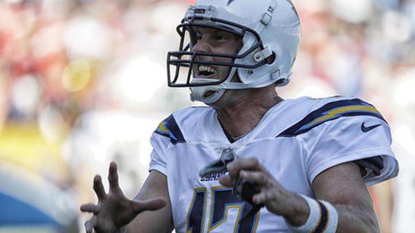 It's 'uh-oh' and three for the Chargers, who haven't won a game since their move to L.A.