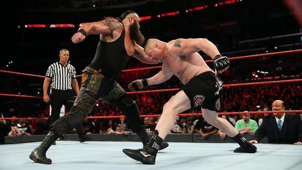 WWE No Mercy results: Brock Lesnar defeats Braun Strowman, Roman Reigns beats John Cena
