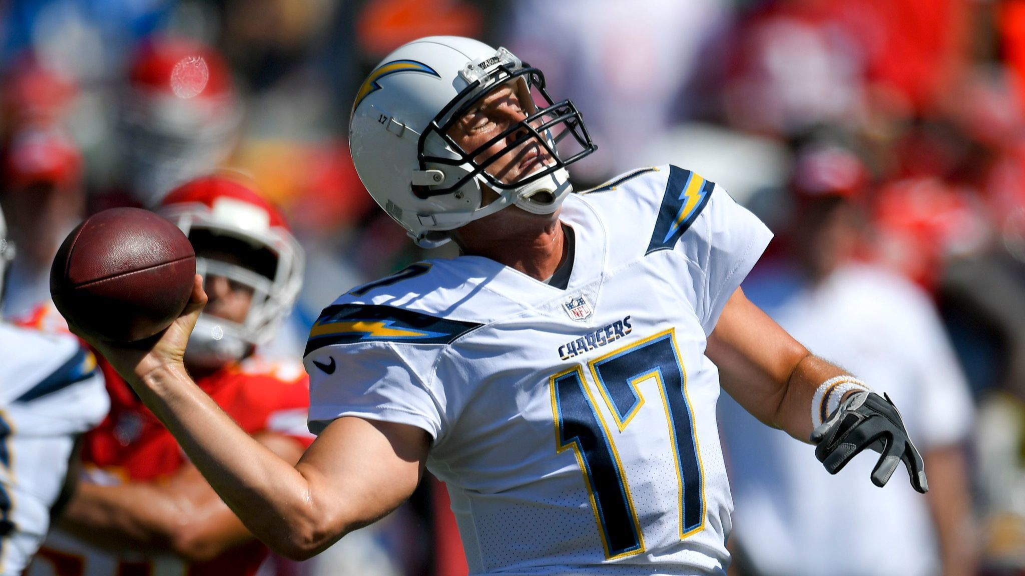 Did Philip Rivers leave his game in San Diego The San Diego